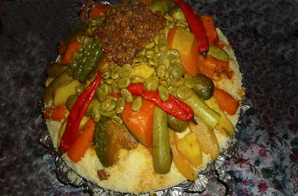 Le couscous au boeuf et sept légumes | LE web magazine de Tanger – Tanger Experience